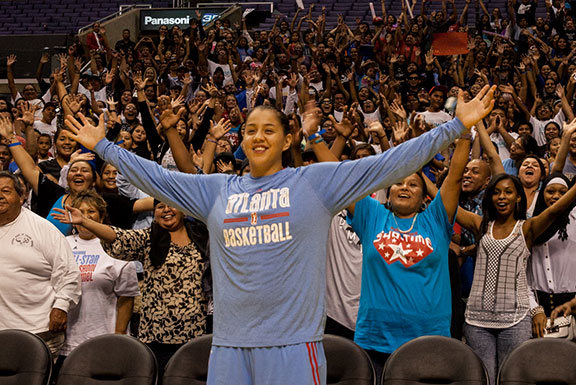 Native sensation Shoni Schimmel